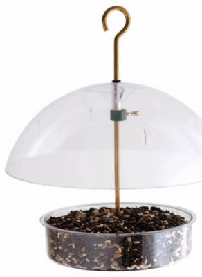 Droll Yankees X-1 Seed Saver Domed Bird Feeder Quantity 1