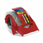 3M 142 Clear Package-Mailing Tape, 2 x 800-In.