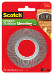 3M 4011 Exterior Mounting Tape, 1 x 60-In. Roll