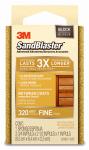 3M 20907-320 Sandblaster 320-Grit Sponge Block