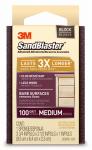 3M 20908-100 Sandblaster 100-Grit Sponge Block