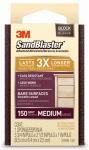 3M 20908-150 Sandblaster 150-Grit Sponge Block