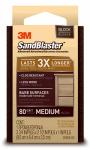 3M 20908-80 Sandblaster 80-Grit Sponge Block