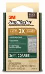 3M 20909-36 Sandblaster 36-Grit Sponge Block