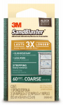 3M 20909-60 Sandblaster 60-Grit Sponge Block