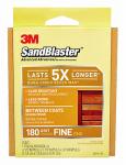 3M 20916-180 Sandblaster 180-Grit Sanding Pad