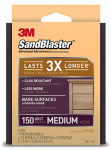 3M 20917-150 Sandblaster 150-Grit Sanding Pad