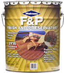 Zinsser & 1439-5 5-Gallon Natural Tone Wood Finish & Preservative