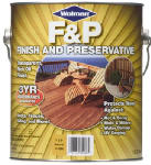 Zinsser & 1439-6 1-Gallon Natural Tone Wood Finish & Preservative
