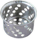 Plumb Shop Div Brasscraft 861-401 1-1/2-Inch Diameter Chrome Crumb Cup With Post