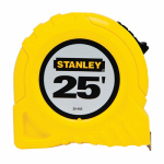 Stanley Consumer Tools 30-455 Top-Lock Tape Measure, 25-Ft. x 1-Inch