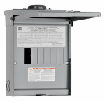 Square D By Schneider Electric HOM612L100RBCP Homeline 100-Amp Main Lug Load Center