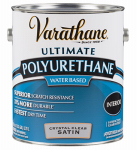 Rust-Oleum 200231 Varathane Gallon Satin Interior Waterborne Diamond Polyurethane
