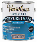 Rust-Oleum 200131 Interior Polyurethane, Water Base, Semi-Gloss, 1-Gal.