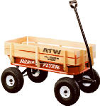 Radio Flyer 32 Red All-Terrain Wagon