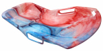 Emsco Group 1159 SnoSprint Racer Sled, Tie-Dye Pattern, 37-In.