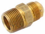 Anderson Metals 54748-1508 15/16-Inch Flare x 1/2-Inch Male Pipe Thread Gas Fitting Adapter
