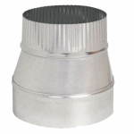 Imperial Mfg Group Usa GV1416 Galvanized Taper Reducer, 5 x 4-In., 24-Gauge