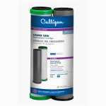 Culligan D250A Dual Filtration System Replacement Water Filter Cartridge Set