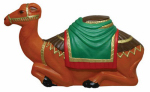 General Foam Plastics C3780TS Christmas Nativity Camel, Illuminated, 28-In.