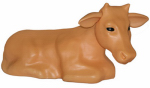 General Foam Plastics C3800TS Christmas Nativity Cow, Illuminated, 22-In.