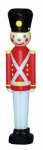 General Foam Plastics C3330TS Indoor or Outdoor Christmas Decoration, Lighted Toy Soldier, 32-In.