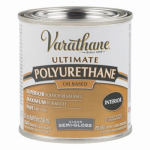 Rust-Oleum 6061H Varathane 1/2-Pint Semi-Gloss Interior Oil-Based Premium Polyurethane