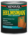 Minwax The 43205 Helmsman 1-Pint Clear Satin Spar Urethane Finish