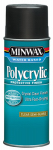 Minwax The 34444 11.5-oz. Polycrylic Aerosol Semigloss Water-Based Finish