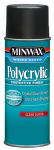Minwax The 35555 11.5-oz. Polycrylic Aerosol Gloss Water-Based Finish