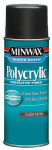 Minwax The 33333 11.5-oz. Polycrylic Aerosol Satin Water-Based Finish