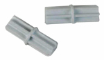 Closetmaid 7565100 2-Pack White Hang Bar Connectors
