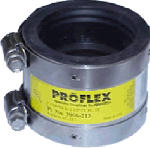 Fernco P3000-22 2 x 2-Inch Specialty Shielded Coupling Connects Cast Iron/Plastic/Steel