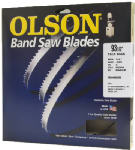 Olson Saw WB58280DB Bandsaw Blade, 3/8 x 80-In., 4-TPI