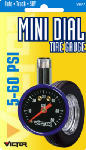 Hopkins Mfg/Bell Automotive 22-5-08770-8 Tire Gauge, Mini Dial, 5-50 PSI,