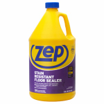 Zep ZUFSLR128 Floor Sealer, Stain Resistant, 1-Gal. Concentrate