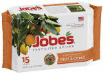 Easy Gardener 01612 Fertilizer Spikes for Fruit & Citrus Trees, 9-12-12, 15-Pk.