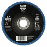 Disston 890916 4-Inch 80-Grit Zirconia Flap Disc