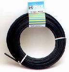 Dial Mfg 4296 Evaporative Cooler Tube, Black Poly, 1/4-In. OD x 50-Ft.