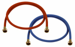 Abbott Rubber WA6RB9006 Color-Coded Washing Machine Hose, 3/8-In. x 6-Ft.