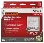 Thermwell-Frost King V73/3H 3PK 42x62 Window Kit