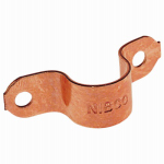Elkhart Products 83006 5-Pack 1-Inch Copper Tube Strap
