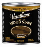 Rust-Oleum 211796 Varathane 1/2-Pt. Light Walnut Premium Oil-Based Interior Wood Stain