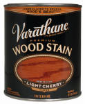 Rust-Oleum 211797 Varathane 1/2-Pint Light Cherry Premium Oil-Based Interior Wood Stain