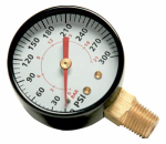 Campbell Hausfeld GR004400AJ Bottom Pressure Gauge